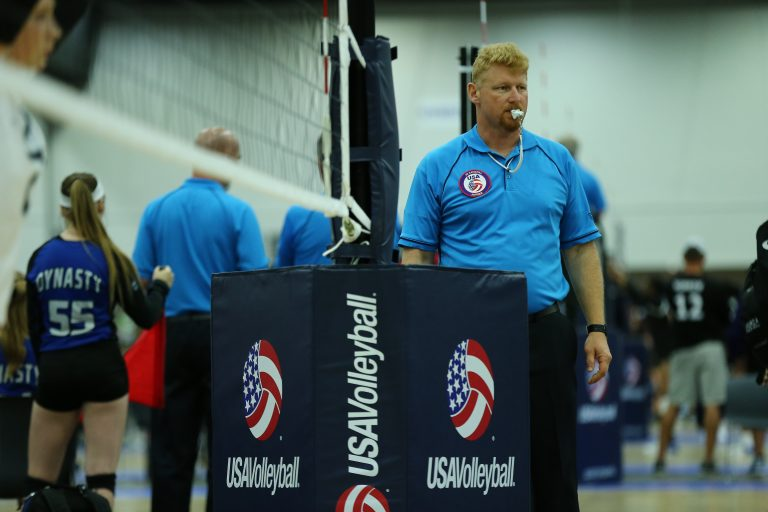 Detroit, MI - JUNE 27:  USA Volleyball at Cobo Hall. (USAV/Rey Del Rio)